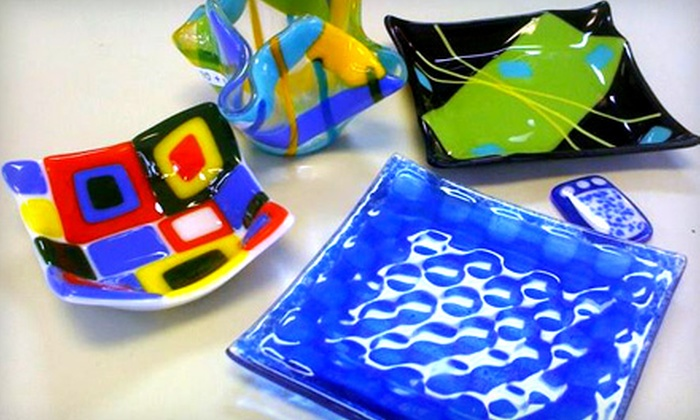 Do It Yourself Crafts - Homewood: Two-Hour Glass-Fusing Classes with BYOB Option at Do It Yourself Crafts in Homewood. Eight Options Available.
