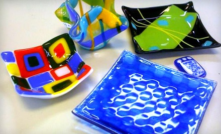 2-Hour Glass-Fusing Class with 2 Take-Home Pieces on Sun., Oct. 16 at 1PM (a $34 value) - Do It Yourself Crafts in Homewood