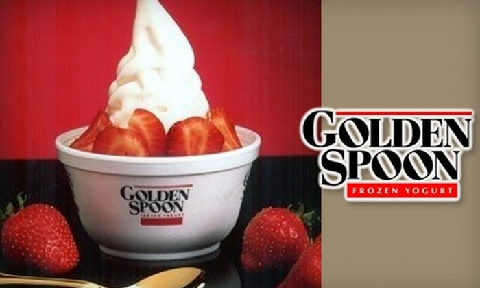 Golden Spoon Frozen Yogurt - Multiple Locations: $5 for $10 Worth of Frozen Yogurt Treats at Golden Spoon Frozen Yogurt