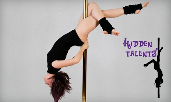 Hidden Talents Dance and Fitness - Garfield: $30 for Two Pole-Dancing Classes (Up to $60 Value) or $18 for Two Burlesque-Dancing Classes ($36 Value) at Hidden Talents Dance and Fitness in Huntington Beach