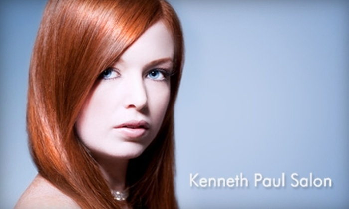Kenneth Paul Salon - Watertown: $120 for a Keratin Hair-Straightening Treatment at Kenneth Paul Salon in Watertown ($300 Value)
