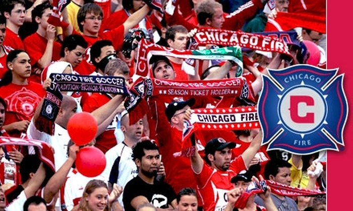 Chicago Fire - Bedford Park: $37 for One Miller Lite Party Deck Ticket to a Chicago Fire Game and an Adidas Chicago Fire Scarf ($75 Value). Buy Here for Fire vs. San Jose Earthquakes on 4/10/10 at 7:30 p.m. Additional Games Below.