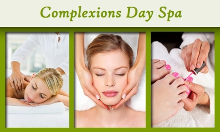 Complexions Day Spa - Gulfport: $45 for a European Facial, Spa Pedicure, Resurfacing Treatment, and Arms/Hands Massage and Scrub at Complexions Day Spa ($205 Value)