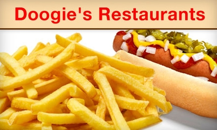 Doogie's - Newington: $3 for $6 Worth of Hot Dogs and More at Doogie's in Newington