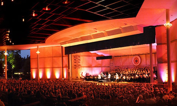 Ravinia Festival - Highland Park: One Ticket to Symphony or Dance Performance at Ravinia Festival Pavilion in Highland Park. Four Options Available.