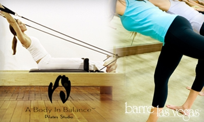 A Body In Balance Pilates Studio and Barre Las Vegas - Peccole Ranch: $29 for Two Pilates Reformer Classes and Two Barre Classes at A Body In Balance Pilates Studio and Barre Las Vegas ($79 Value)