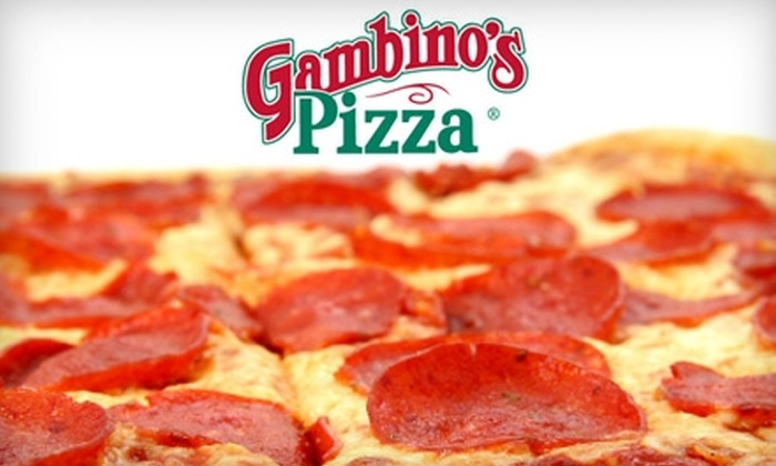 Gambino's Pizza - Multiple Locations: $10 for $20 Worth of Pizza and More at Gambino's Pizza