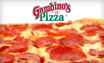 $20 Groupon to Gambino's Pizza - Gambino's Pizza in Topeka