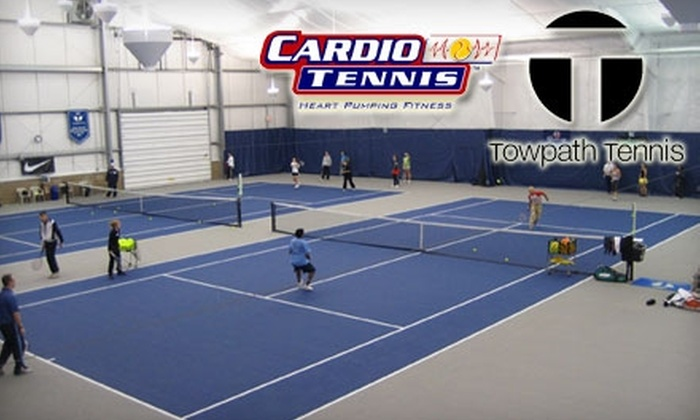 Towpath Tennis Center - Merriam Valley: $10 for One Cardio Tennis Class at Towpath Tennis Center