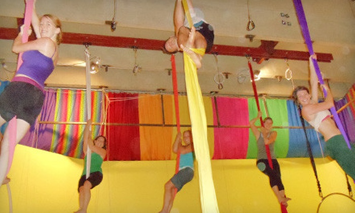 Learning2Fly - Oakwood: $40 for a Five-Class Aerial-Arts, Hula-Hoop, and Yoga Package at Learning2Fly in Mission ($82 Value)