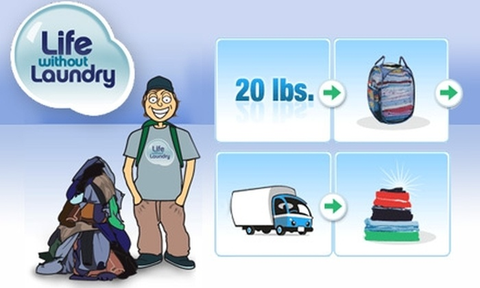 Life Without Laundry - Ten Hills: $13 Platinum Laundry Pick-Up and Delivery from Life Without Laundry ($27 Value)