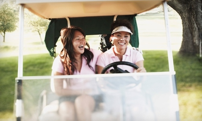 Family Golf & Learning Center - Saint Louis: $15 for Two Nine-Hole Rounds of Golf, Two Medium Buckets of Balls, and Two Soft Drinks at Family Golf & Learning Center