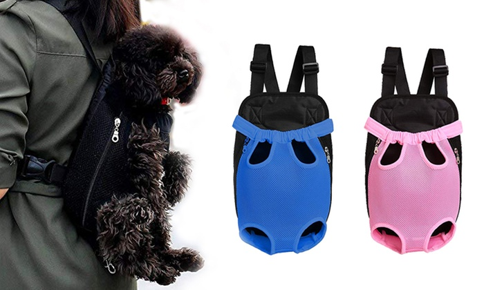 35eff63a06c Mesh Pet Carrier Backpack | Groupon