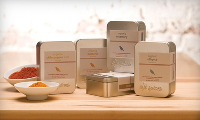 TSP Spices, Inc.: Premeasured Spices from TSP Spices, Inc. (Half Off). Two Options Available.
