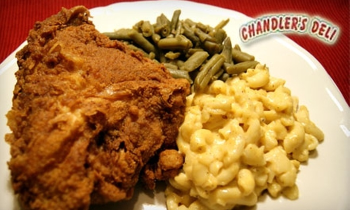 Chandler's Deli - Park City: $4 for $8 Worth of Barbecue and Soul Food at Chandler's Deli