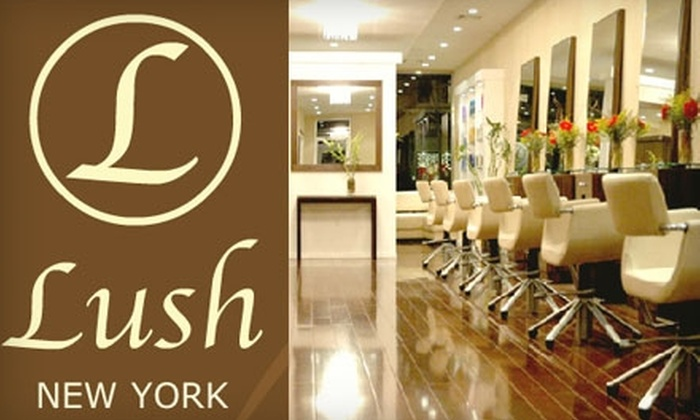 Lush New York Salon - Bay Ridge & Fort Hamilton: Hair-Straightening Treatments at Lush New York Salon in Brooklyn. Choose Between Two Options.