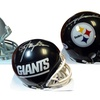NFL Signed Mini Helmets with Certificate of Authenticity