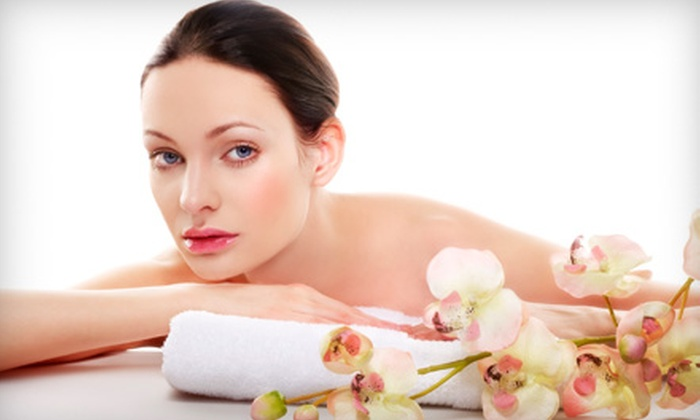 spaViolet - Solana Beach: $59 for a Spa Package at spaViolet in Solana Beach ($135 Value)