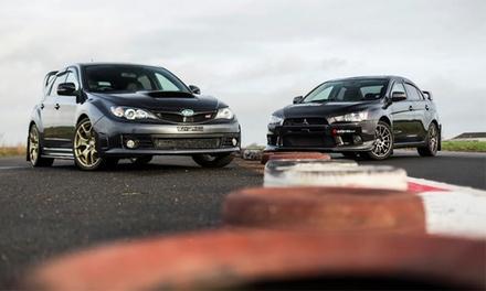 Subaru Vs Evo Driving Experience