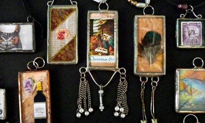 Kachina Stained Glass - Mesa: $30 for a Soldered-Charm Class and Supply Kit at Kachina Stained Glass in Mesa