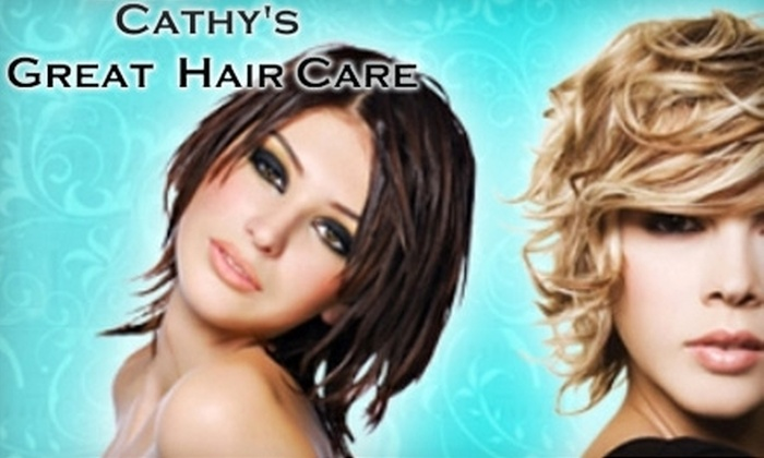 Cathy's Great Hair Care - Milton: $25 for $60 Worth of Hair Services at Cathy's Great Hair Care