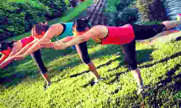 Hiking Yoga - Reverchon Park: Yoga Hike for One or Up to 15 People from Hiking Yoga (Up to 50% Off)