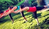 Hiking Yoga - Vista Income Estates: Yoga Hike for One or Up to 15 People from Hiking Yoga (Up to 50% Off)