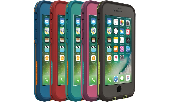 new arrival 47625 5a0a5 LifeProof Fre Series Waterproof Cases for iPhone 7 or 7 Plus | Groupon