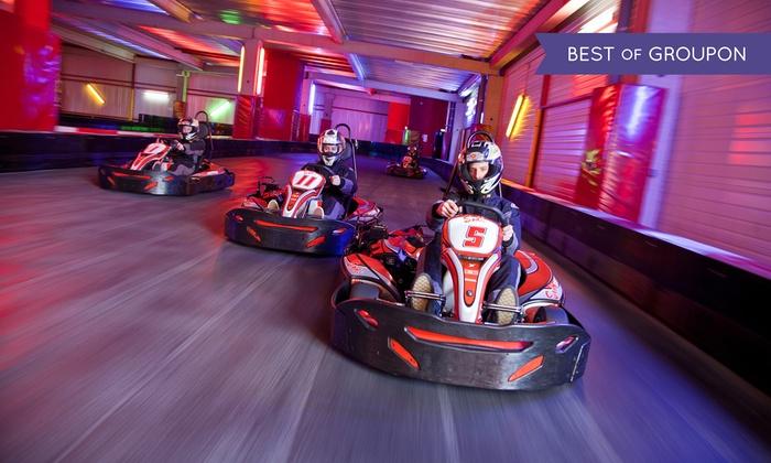 Session de karting  pour 1, 2, 3, 4, 5 ou 6 personnes dès 9,90 € au Speed Park d'Hénin-Beaumont EXCLUSIVEMENT