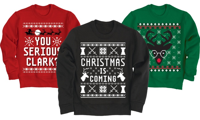 Men's Pop Culture Ugly Sweaters
