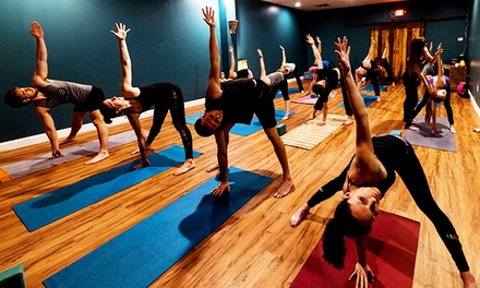 Five Class Pass at Evolve Yoga (Up to 61% Off)