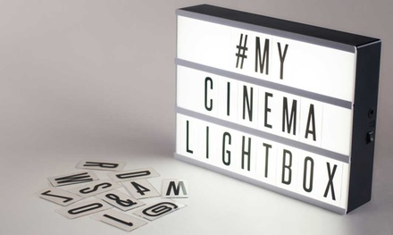 One (AED 79), Two (AED 149) or Three (AED 210) Cinema Light Boxes