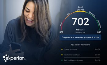 Identity Theft Protection w Experian Boost™ to raise your FICO® Score