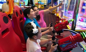 Up to 61% Off Family Fun Pack at Funtrackers at Funtrackers, plus 6.0% Cash Back from Ebates.