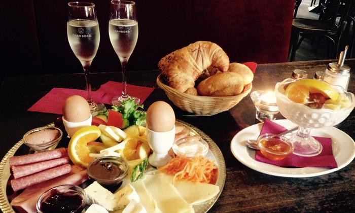 Brief Für Zwei Personen : Frühstück für zwei inkl prosecco cafe hardenberg groupon