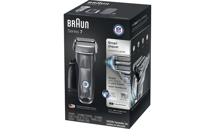 braun series 7 cleaning station instructions