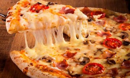 Menú para 2 o 4 con entrante, pizza, postre y bebida en Bugsy Pizzeria Artesanal (hasta 55% de descuento