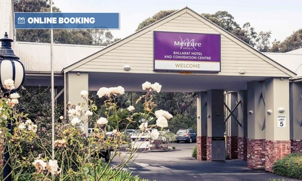 Ballarat: 1-3 Nights for Two with Wine, Early Check-In, Late Check-Out and Option for Breakfast at 4* Mercure Ballarat