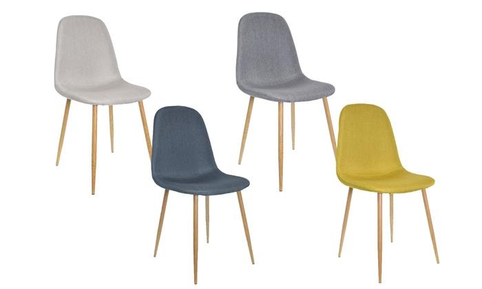 st hle im skandinavischen stil groupon goods. Black Bedroom Furniture Sets. Home Design Ideas