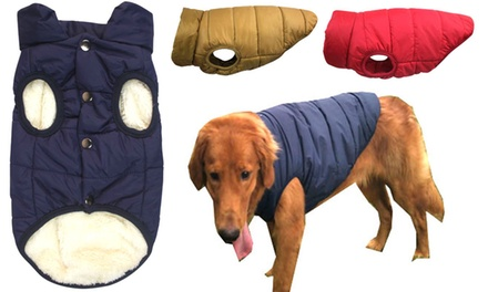 From $18.95 for Winter Warm Dog Clothes