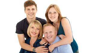 Sub Studio Photography: Family Portrait Experience with Frame from Sub Studio Photography (91% Off)