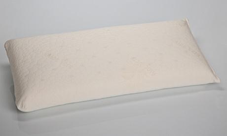 1 o 2 almohadas transpirables con viscoelástica de núcleo compacto Dormio