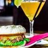 Burger and Cocktail