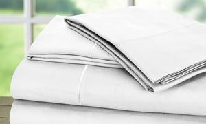 100% Egyptian Cotton 1,000TC Baratta Hem Sheet Set (4-Piece)