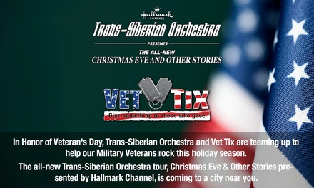 """Trans-Siberian Orchestra Presents The All-New """"Christmas Eve and Other Stories"""" Concert on November 13"""