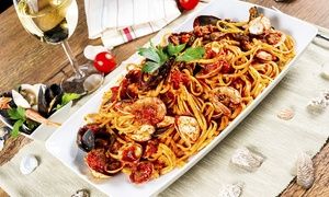 Portofino: Starters, Garlic Bread and Sharing Platters For Two, Four or Six from £23.95 at Portofino (Up to 51% Off)