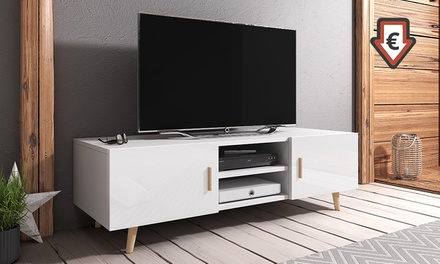 meuble tv rivano groupon. Black Bedroom Furniture Sets. Home Design Ideas