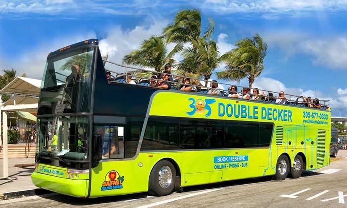 305 Miami Tours - Bayside Marketplace: Miami City Tour for One, Two, or Four at 305 Miami Tours (Up to 39% Off)