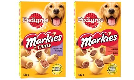 Fino a 24 confezioni di cibo per cani disponibili in 3 gusti