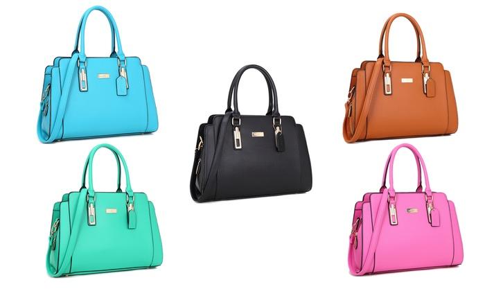 Dasein Collection Satchel Handbag: Dasein Collection Satchel Handbag